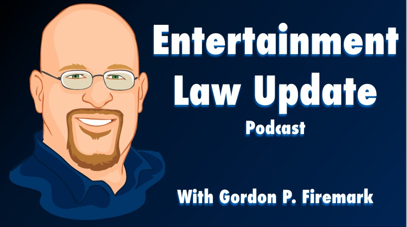 Copyright Misuse, Motion Capture and more.  Entertainment Law Update Episode 95